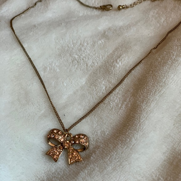 2/$15 Bow Necklace